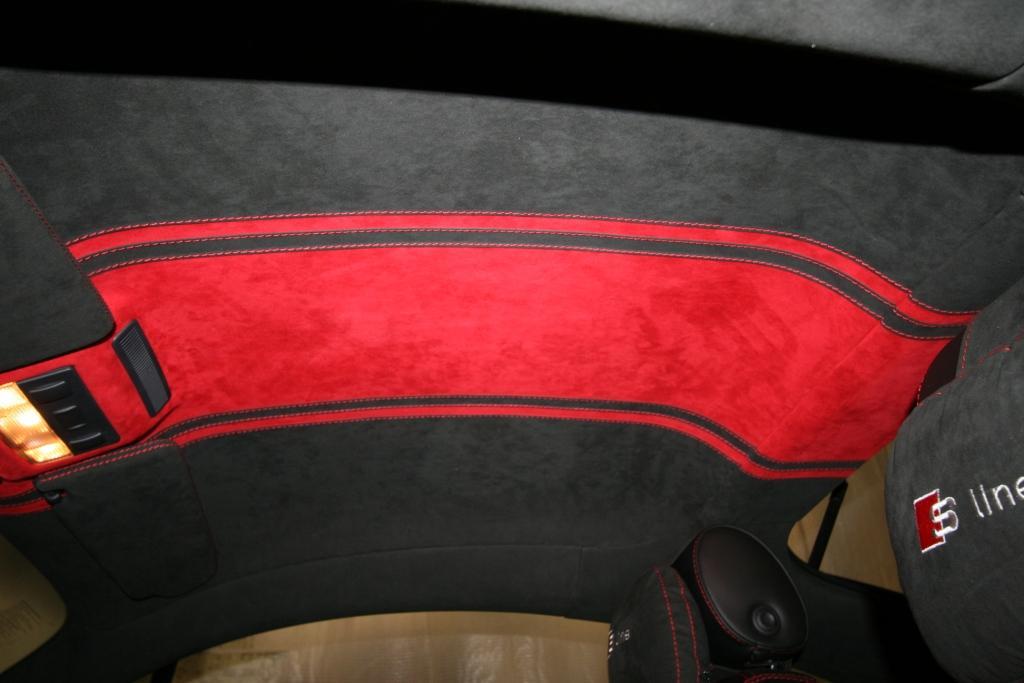 Обшивка авто потолка